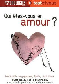 Couverture d'ouvrage: Qui êtes-vous en amour ?